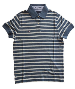 Camisa Polo Tommy Hilfiger Slim Fit Masculina Original