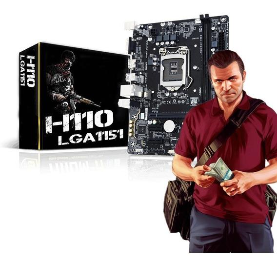 Kit Gamer 7ºgeração H110 + G4560 + Memoria 4gb Ddr4 Promoção