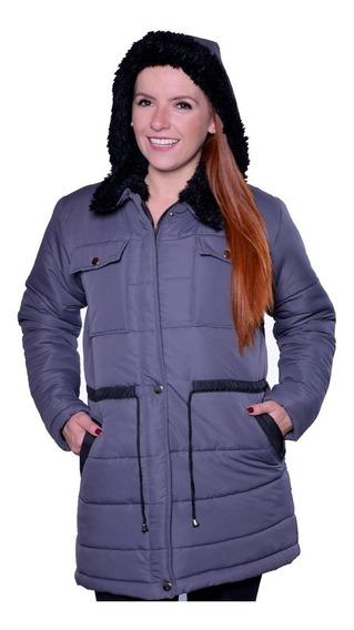 Sobretudo Feminino Frio Extremo Tur Europa Chile Bariloche