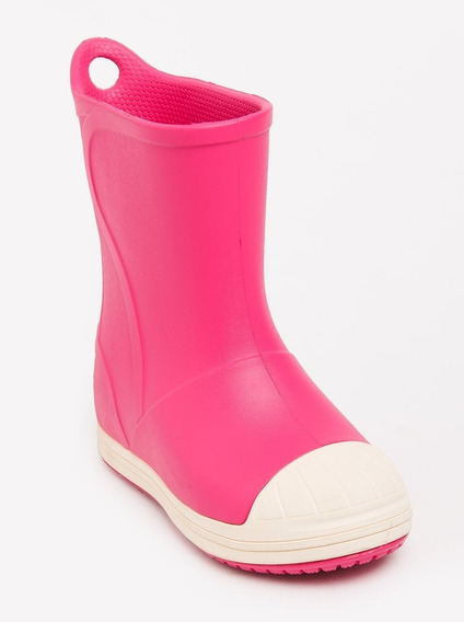 Botas Lluvia Niño Crocs Bump It Boot Candy Pynk/oyster