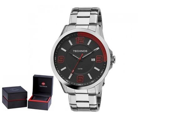 Relógio Technos Masculino 2115klm/1r Original + Nf