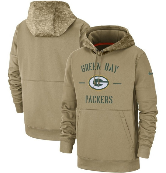 Moletom Casaco Green Bay Packers Salute To Service Importado