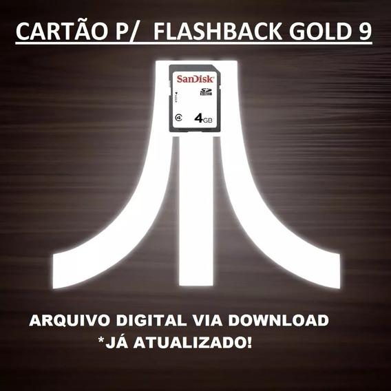 Cartão Sd P/ Atari Fb9 Gold - Arquivo Digital + Update