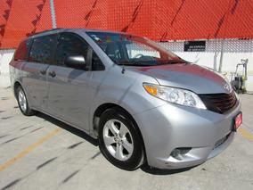 Toyota Sienna Ce Plata 2013 Comonueva 3 Años De Garantia