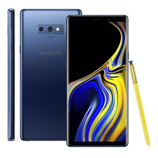 Galaxy Note 9 Azul Ram 6gb Tela 6.4 - Semi Novo - Zerado