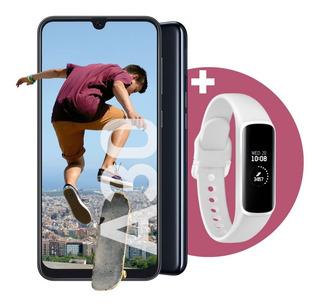 Celular Libre Samsung Galaxy A30 Blanco + Galaxy Fit E Blanc