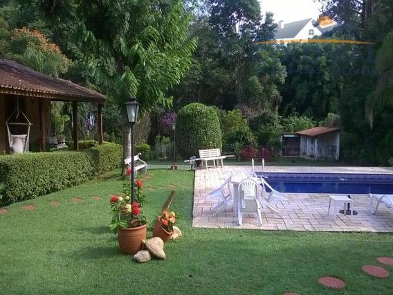 Chácara Com Piscina E Quadra De Tênis (porteira Fechada) Figueira Branca, Campo Limpo Paulista - Ch00052 - 2764246