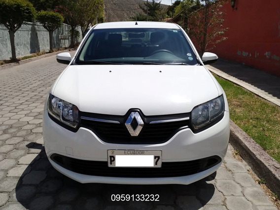 Renault Logan Expression 8v Ac 1.6 / 2017 Oportunidad