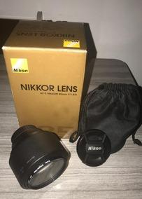 Lente Nikon 85mm 1.8g + Filtro Uv