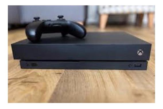 Microsoft Xbox One X 1tb Standard Preto Com Nota Fiscal