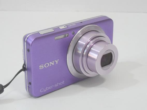 Camera Fotográfica Sony Cybershot W630 16mp Barata + Brindes