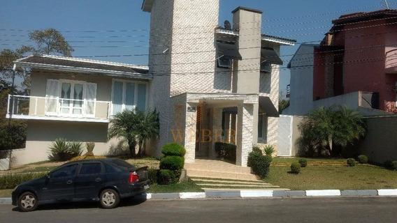 Casa Condomínio Alto Padrão Portal Do Monte Alegre - Ca0380