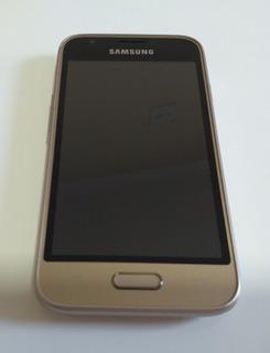 Celular Samsung J1 Mini Dourado 8gb Usado Muito Conservado