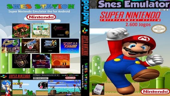 Emulador Super Nintendo + 2600 Jogos Para Android / Download