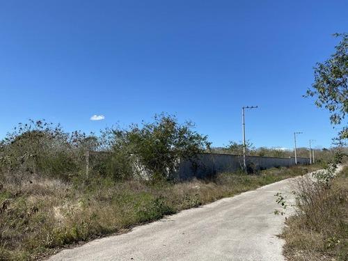 Terreno En Mérida Para Desarrollar Privada- Bardeado