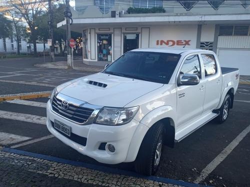 Imagem 1 de 11 de Hilux Cd Srv D4-d 4x4 3.0 Tdi Diesel Aut