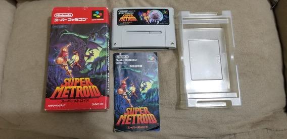 Super Metroid Original Nintendo Super Famicom. Idioma Inglês