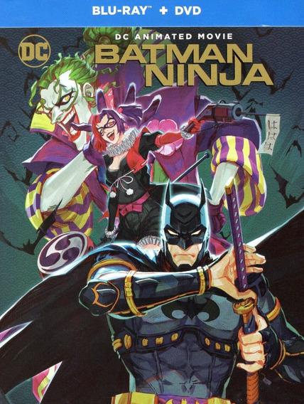 Batman Ninja (2018) Steelbook Dc Universe Blu-ray + Dvd
