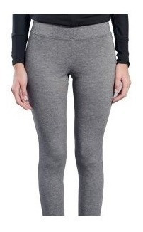 Calza De Supplex Negro Chupin Deportiva Leggings Tiro Alto