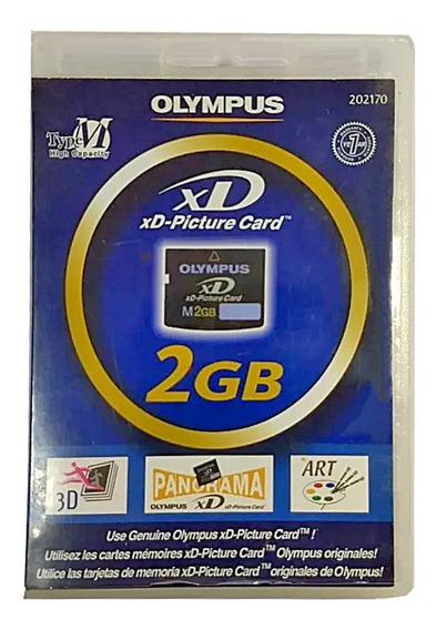 Cartão De Memória Olympus Xd Original 2gb Promoção