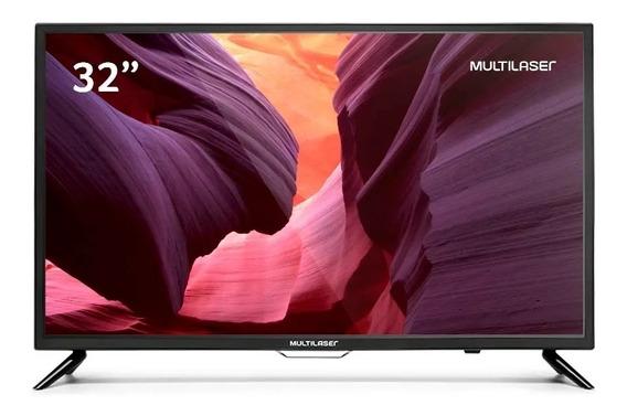 Tv Multilaser Tl001 Led Hd 32 C/ Conversor Digital