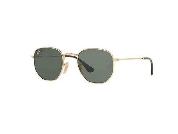 Óculos De Sol Hexagonal Masculino Feminino Capinha E Flanela