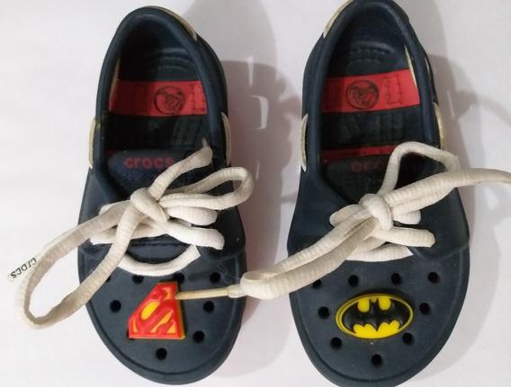 Crocs Para Niños** Superman/batman**originales!