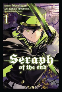 Seraph Of The End 1! Mangá Panini! Novo E Lacrado!