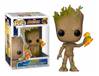 Funko Pop Groot Avengers Infinity War Número 416
