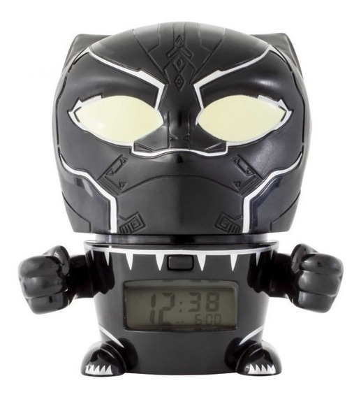 Reloj Niño Avengers Pantera Negra Lego & Bulbbotz Oficial
