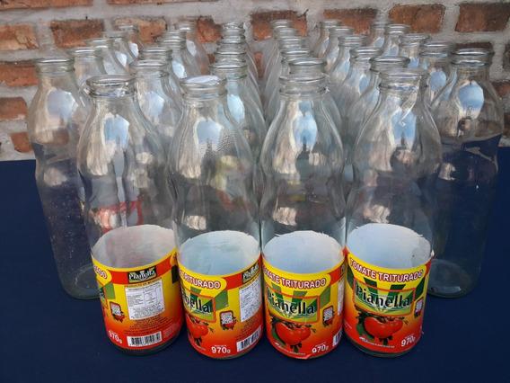 34 Botellas Vacías De Tomate-precio Por Todo El Lote