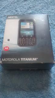 Caixinha Do Celular Motorola Titanium
