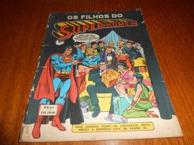 Hq Os Filhos Do Super-homem. Ebal 1981.