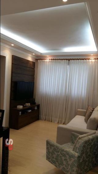 Apartamento Para Venda Por R$285.000,00 - Chácara Agrindus, Taboão Da Serra / Sp - Bdi16601