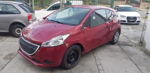 Oportunidad Oferta Peugeot 208 Chocado Ideal Para Reparar
