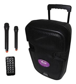 Parlante Portatil 12bateria 2mic Mp3 Bluetooth Envio Gratis