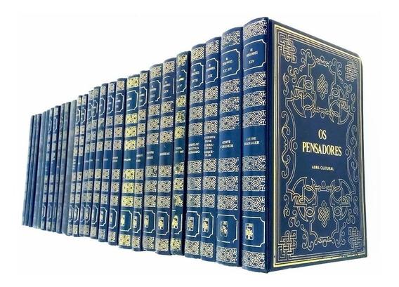 Os Pensadores - Coleção - 25 Volumes