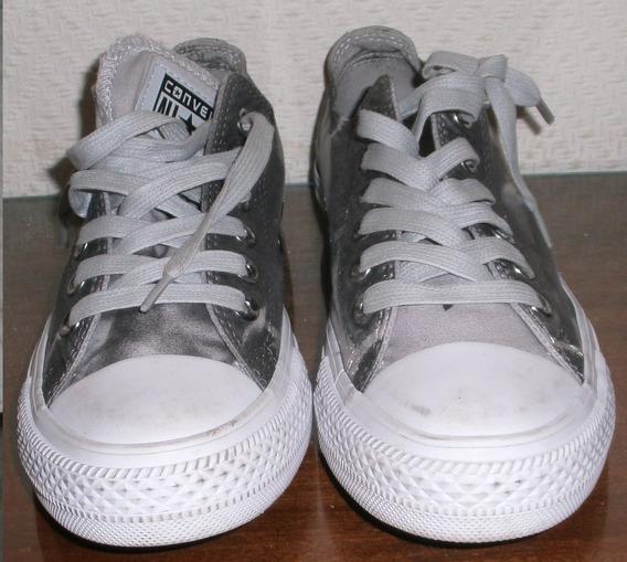 Zapatillas Grises. N° 5. Marca All Star -converse
