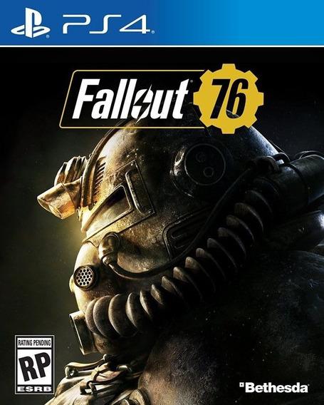 Fallout 76 Lacrado Ps4 Midia Física