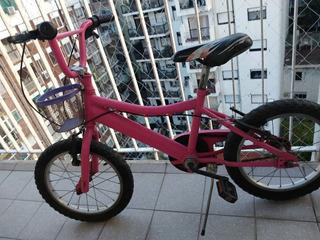 Bicicleta Bmx De Niña Rod. 16
