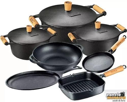 Imagem 1 de 10 de 7 Panela Mineira Parmegiana Caçarola Frigideira Cook Grill
