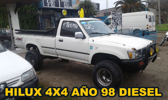 Toyota Hilux Año 1998 Cab Simple 4x4
