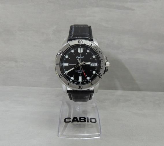 Relógio Masculino Casio Mtp-vd01l-1evudf - Nf Garantia Casio