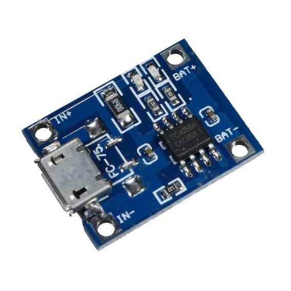5 * Módulo Controlador De Carga Para Bateria De Lítio Tp4056
