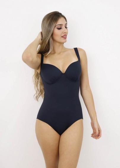 Maiô Body Feminino Bojo Casquinha Fechado Proteção Uv