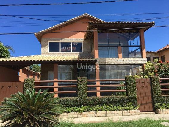 Casa À Venda, 324 M² Por R$ 600.000 - Ponta Da Areia - São Pedro Da Aldeia/rj - Ca0687