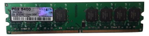 Memoria Ddr2 Ocz 1gb Pc2-5300 667mhz 16 Chips 1