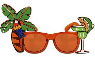 Gafas De Fiesta Luau Hawaiana Accesorio Para Halloween
