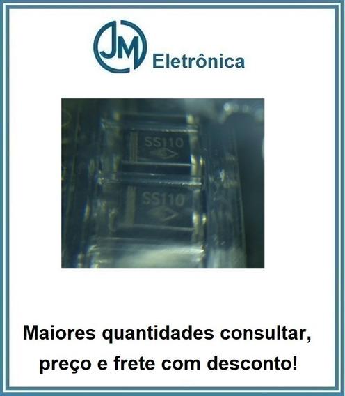 Lote 5x -diodo Schottky 100v 1a Smd Ss110 Ss 110 -cód82