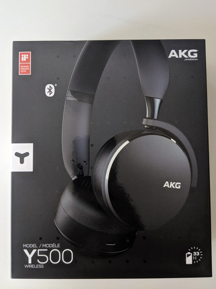 Phone Bluetooth Akg Y500 - Garantia 1 Ano